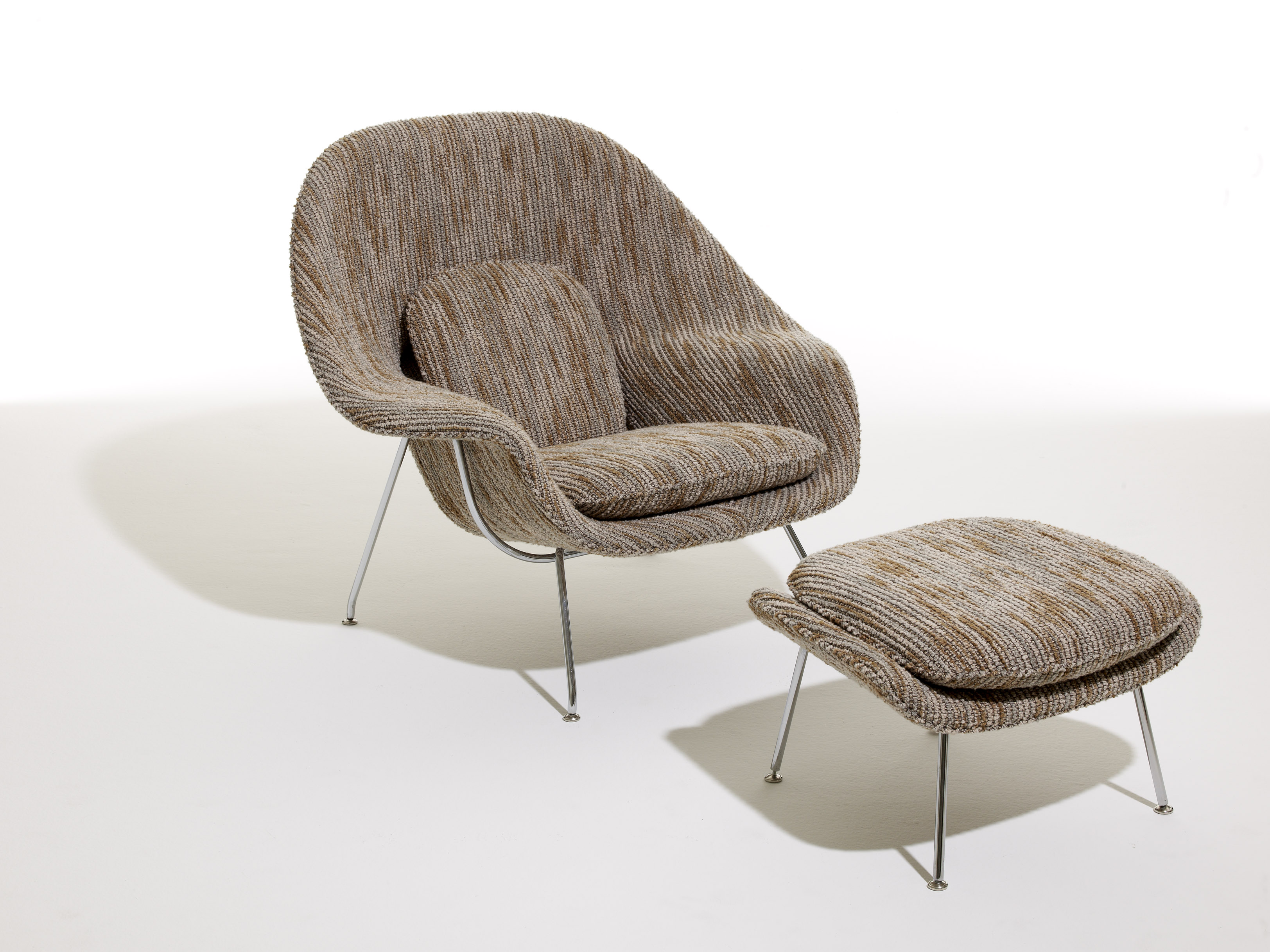 womb chair decor