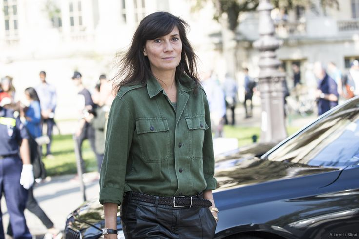 Paris Fashionweek ss2015 day 7, outside Chanel